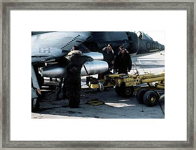 Napalm Bomber Framed Print by Us Air Force