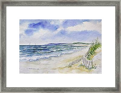 Napatree Beach Framed Print