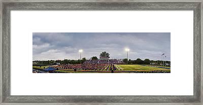 Naperville High Graduation Framed Print by Andrew Soundarajan