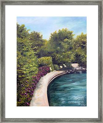 Naperville Riverwalk II Framed Print