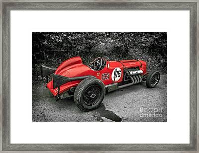 Napier Bentley Framed Print
