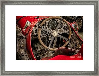 Napier Bentley Cockpit  Framed Print