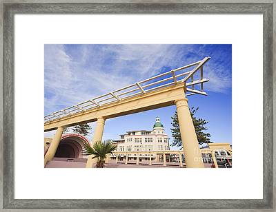 Napier New Zealand Art Deco Framed Print by Colin and Linda McKie