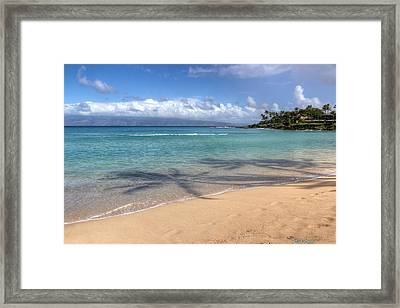 Napili Bay Maui Framed Print