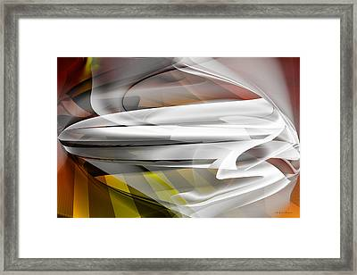 Napkin Folding - Abstract Framed Print