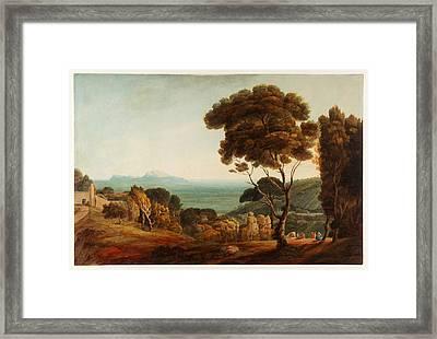 Naples And Capri  Framed Print by Celestial Images