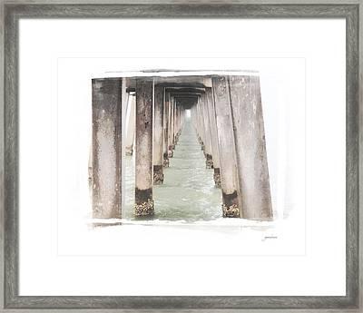 Naples Fl Pier Framed Print