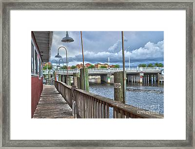 Naples Florida Waterfront Framed Print