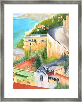 Naples Framed Print