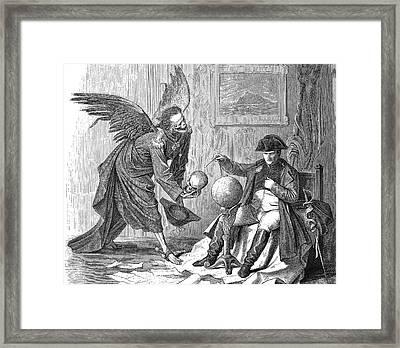 Napoleon And Death Framed Print by Bildagentur-online/tschanz
