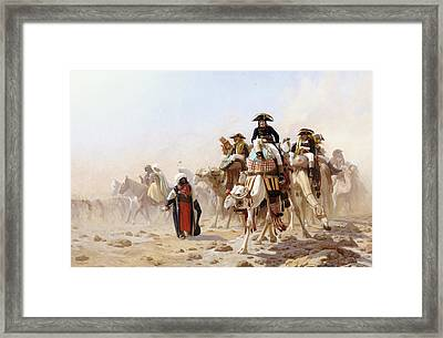 Napoleon And His General Staff Framed Print