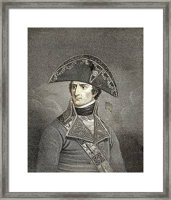 Napoleon Bonaparte Framed Print by American Philosophical Society