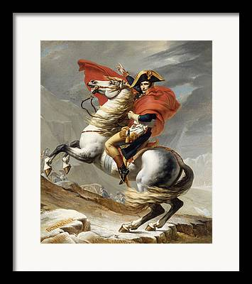 Napoleon Bonaparte Framed Prints