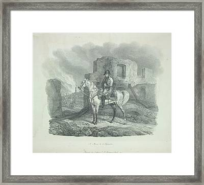 Napoleon Framed Print by British Library