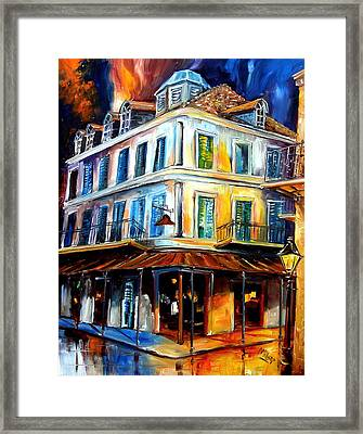 Napoleon House Framed Print by Diane Millsap