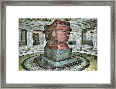Napoleon Memorial 2 Framed Print by Yury Malkov