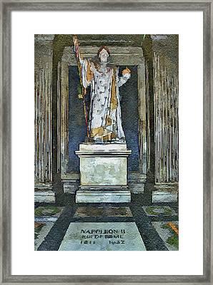 Napoleon Memorial Framed Print by Yury Malkov