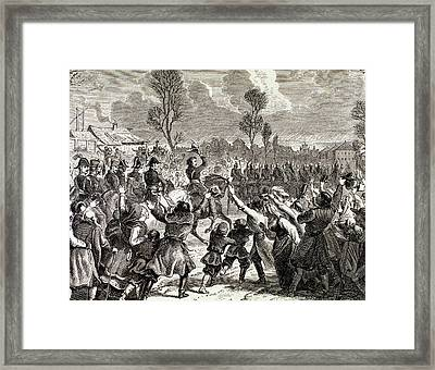 Napoleonic Wars Enthusiasm Framed Print by Prisma Archivo