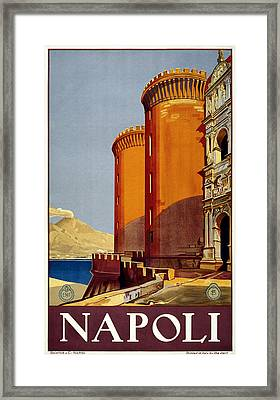 Napoli Italy Framed Print by Georgia Fowler
