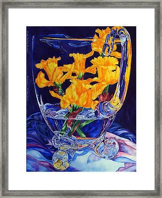 Narcisses Dans Un Vase From Master Class Framed Print