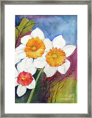 Narcissus Framed Print by Sibby S