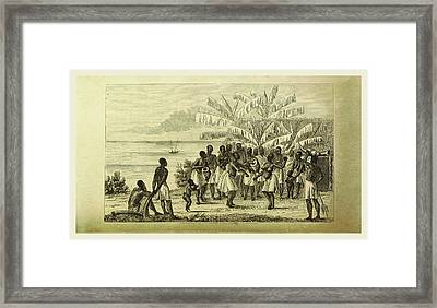 Narrative Of A Voyage Of Observation Among The Colonies Framed Print by Litz Collection