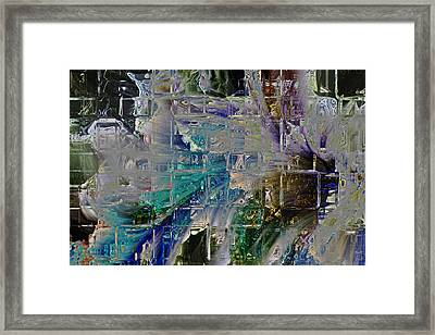 Narrative Splash Framed Print