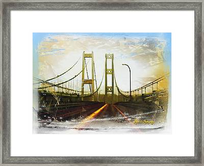 Framed Print featuring the photograph Narrow Escape by Sadie Reneau