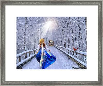 Narrow Gate Framed Print by Dolores Develde
