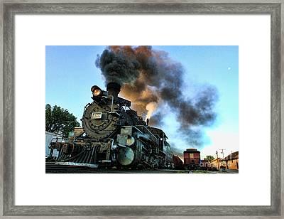 Narrow Gauge Steamer Framed Print