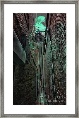 Narrow Street Framed Print by Jasna Buncic