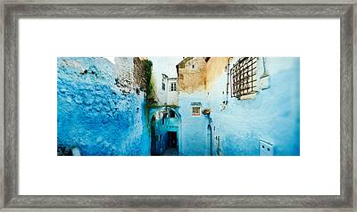 Narrow Streets Of The Medina Are All Framed Print