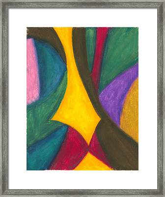 Narrowing The Focus Framed Print