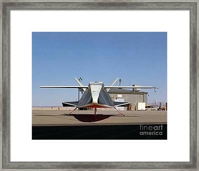 Nasa Hyper IIi Aircraft Framed Print