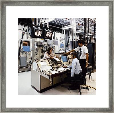 Nasa Research 1996 Framed Print by Granger