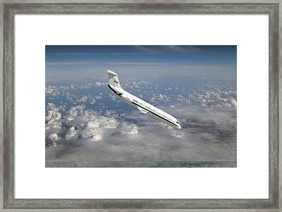 Nasa's C-9 Zero-gravity Aeroplane Framed Print