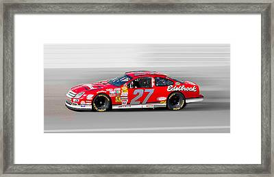 Nascar Ford Framed Print by Gunter Nezhoda