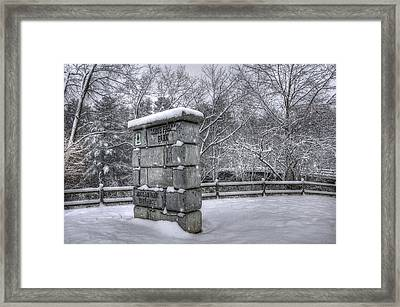 Nashua Nh - Mine Falls Park Framed Print