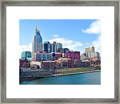 Nashville Blues Framed Print