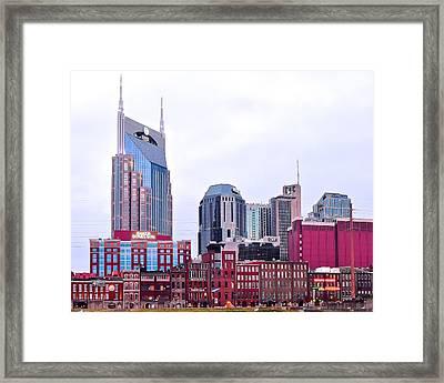 Nashville Close Up Framed Print