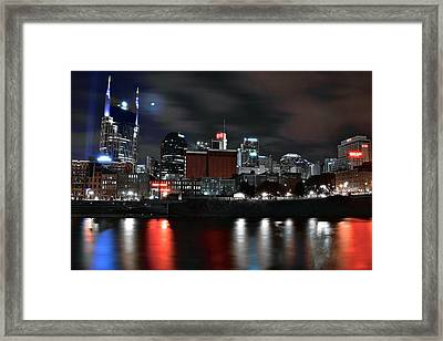 Nashville Dark Knight Framed Print