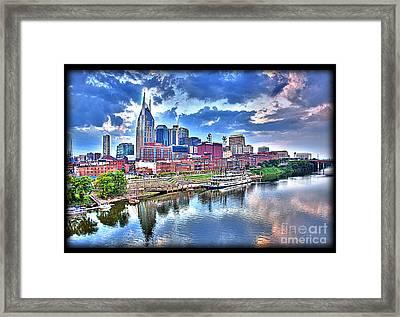 Nashville Framed Print by Jennifer Pinckney