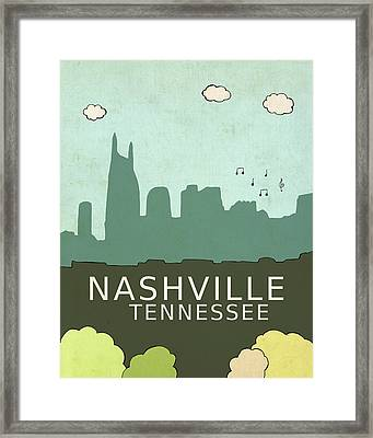 Nashville Framed Print by Lisa Barbero
