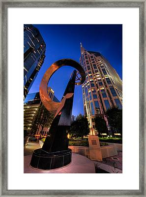 Nashville Night Framed Print
