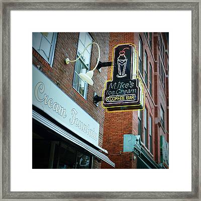 Nashville On Film Framed Print by Linda Unger