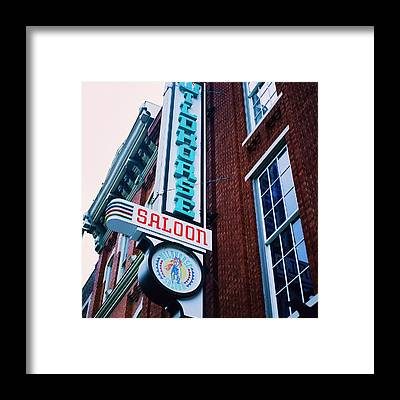 Wildhorse Saloon Framed Prints