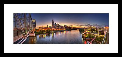Cumberland River Framed Prints