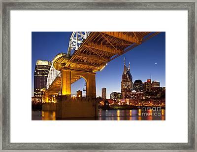 Nashville Tennessee Framed Print by Brian Jannsen