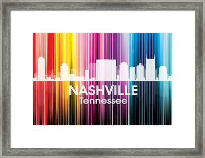 Nashville Tn 2 Framed Print by Angelina Vick