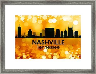 Nashville Tn 3 Framed Print by Angelina Vick